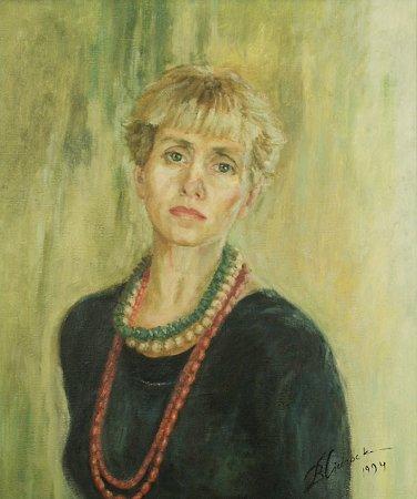 autoportret Barbary Cichockiej