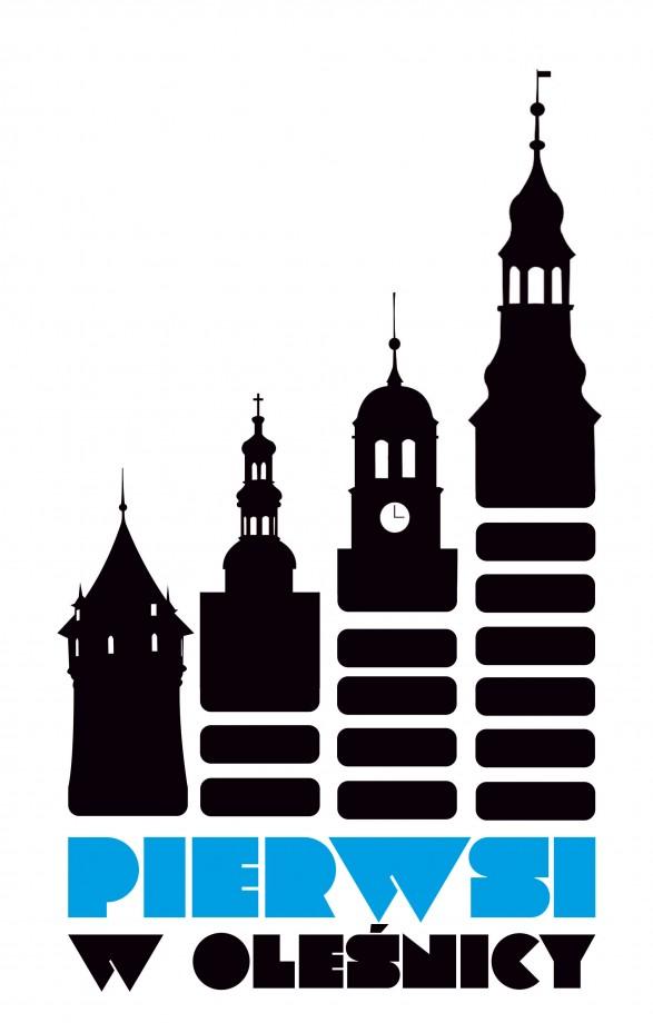 logo projektu Pierwsi w Oleśnicy