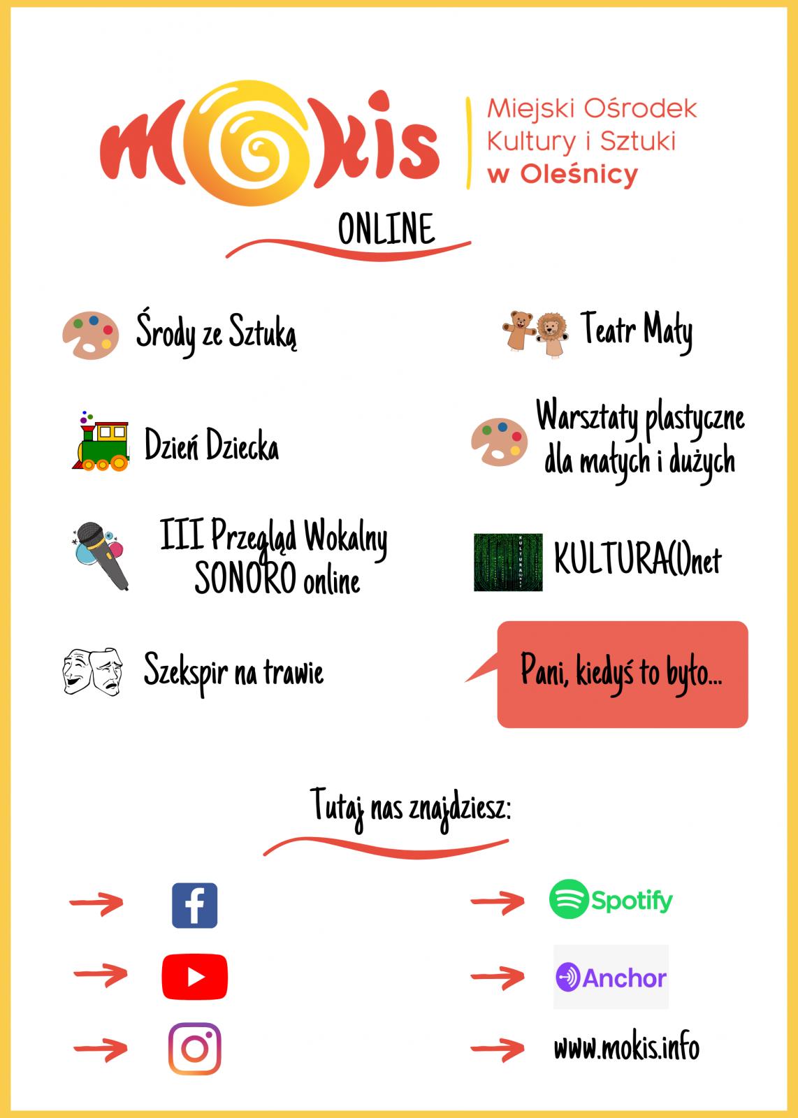 plakat MOKiS online