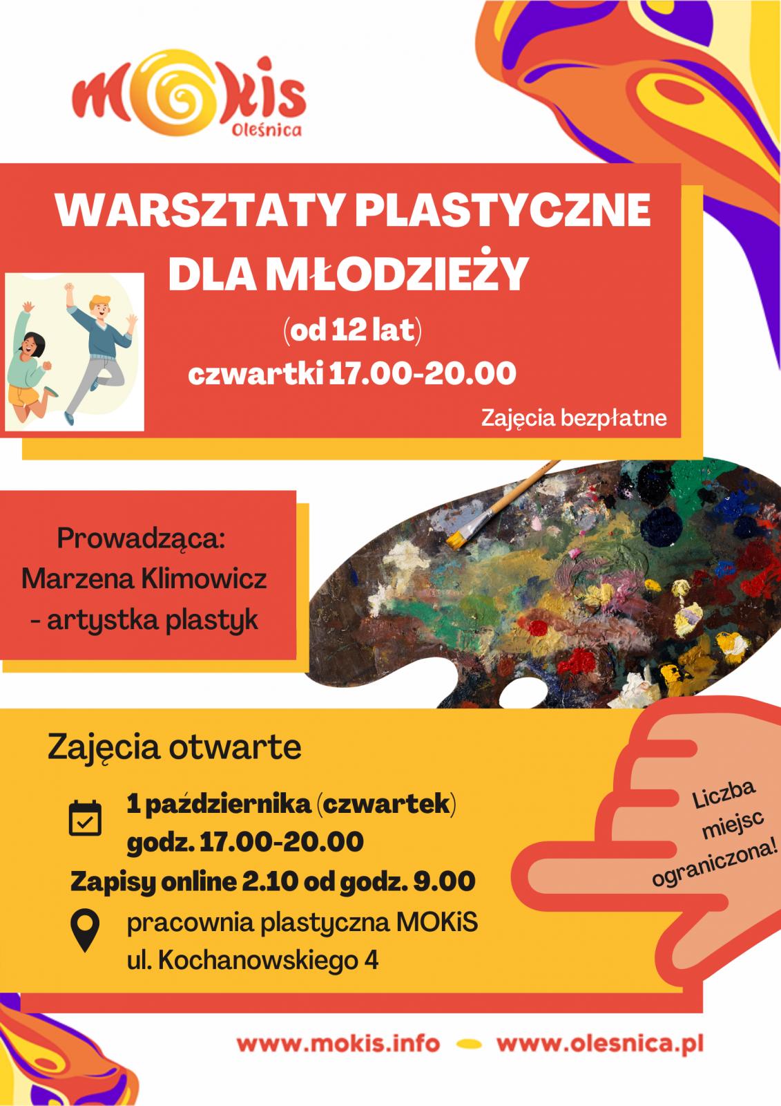 plakat plastyczne młodzież