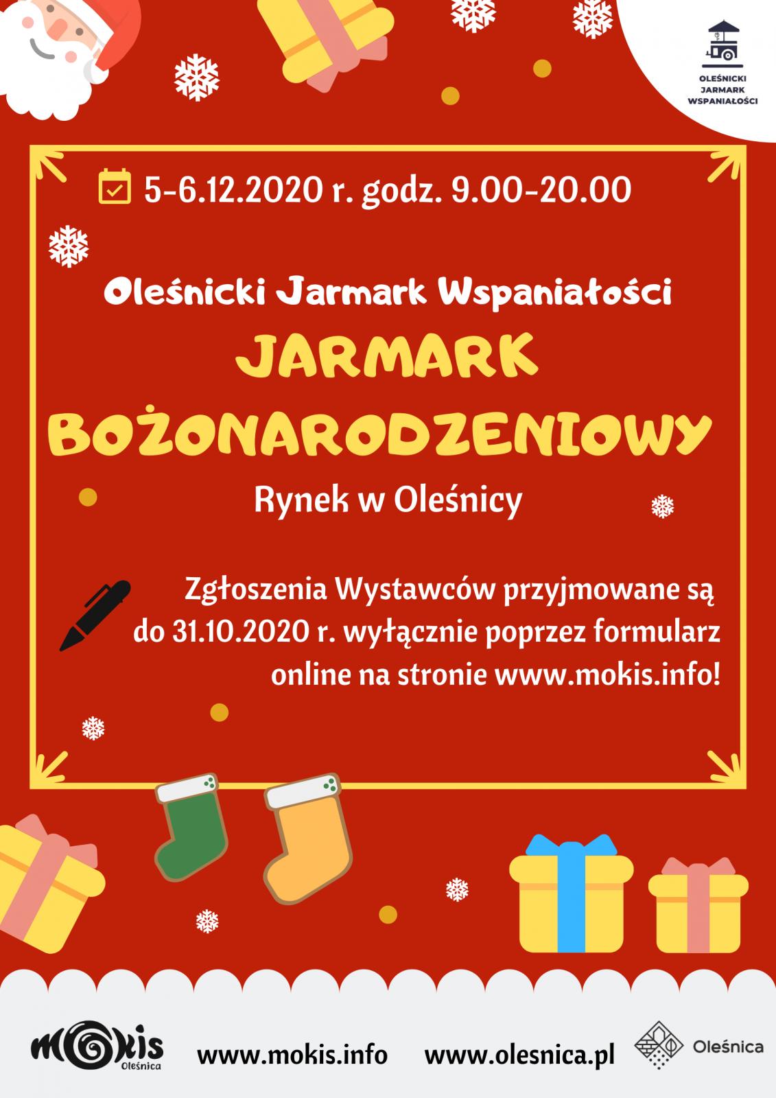 plakat informacyjny Jarmark