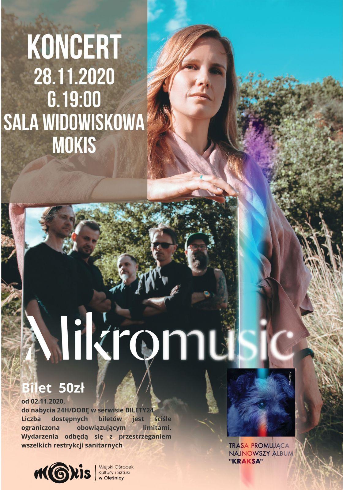 Mikromusic-koncert plakat