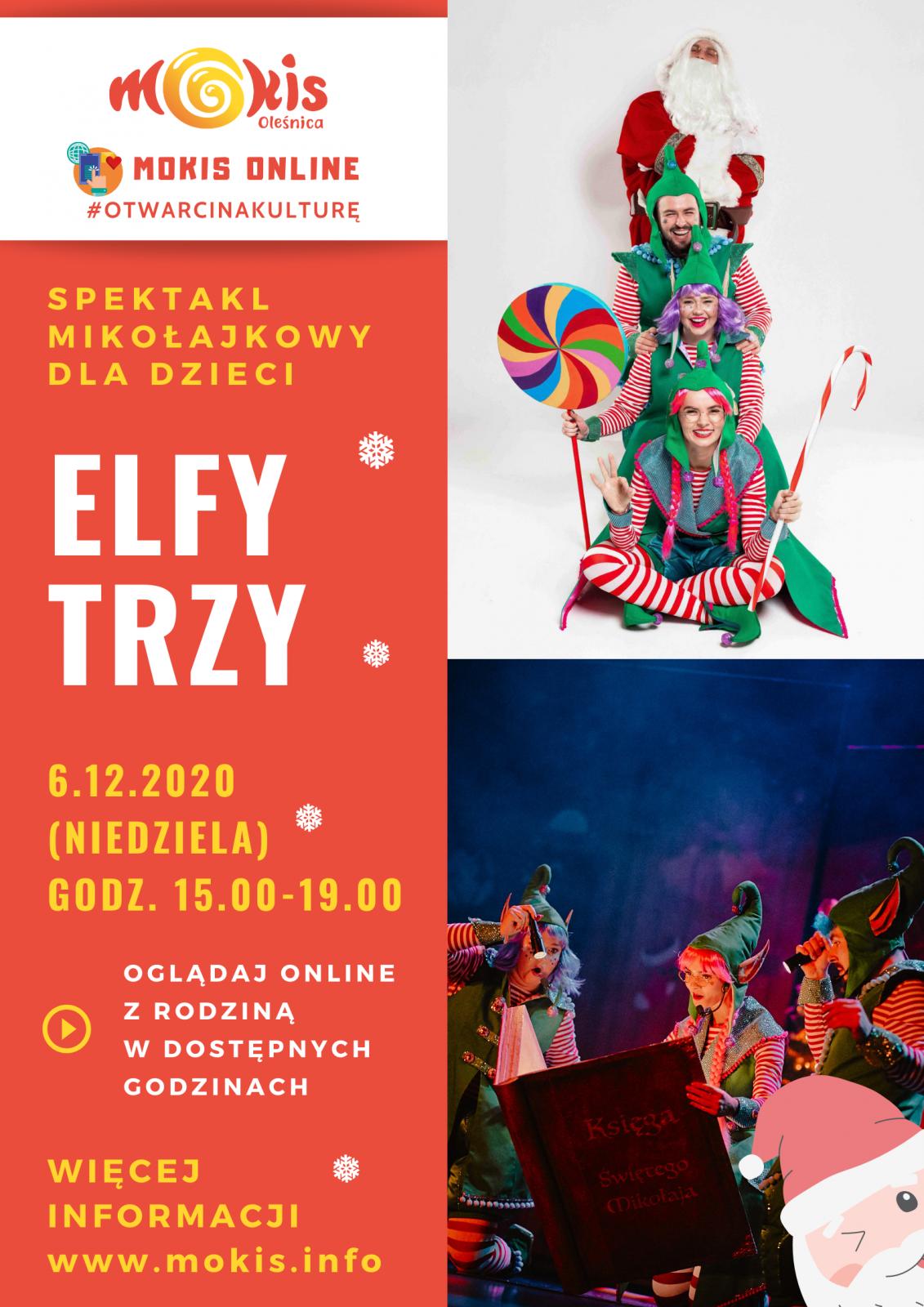plakat Elfy Trzy
