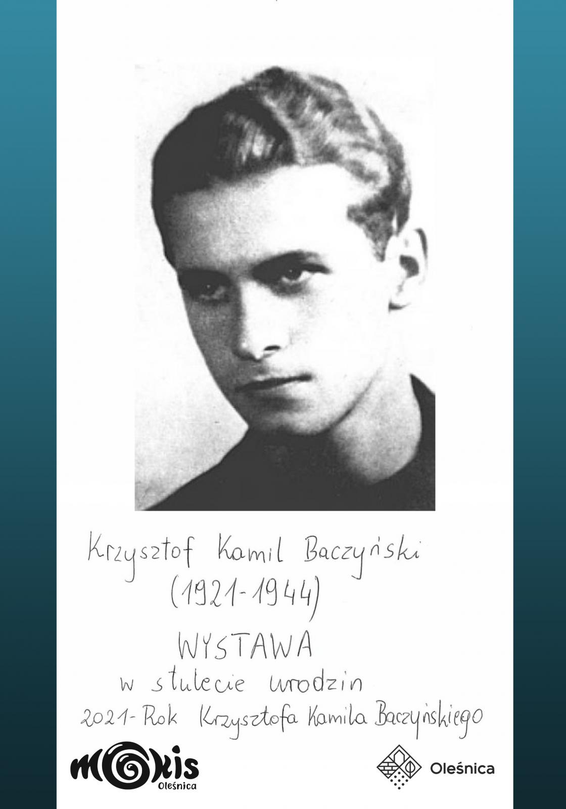 plakat Baczyński