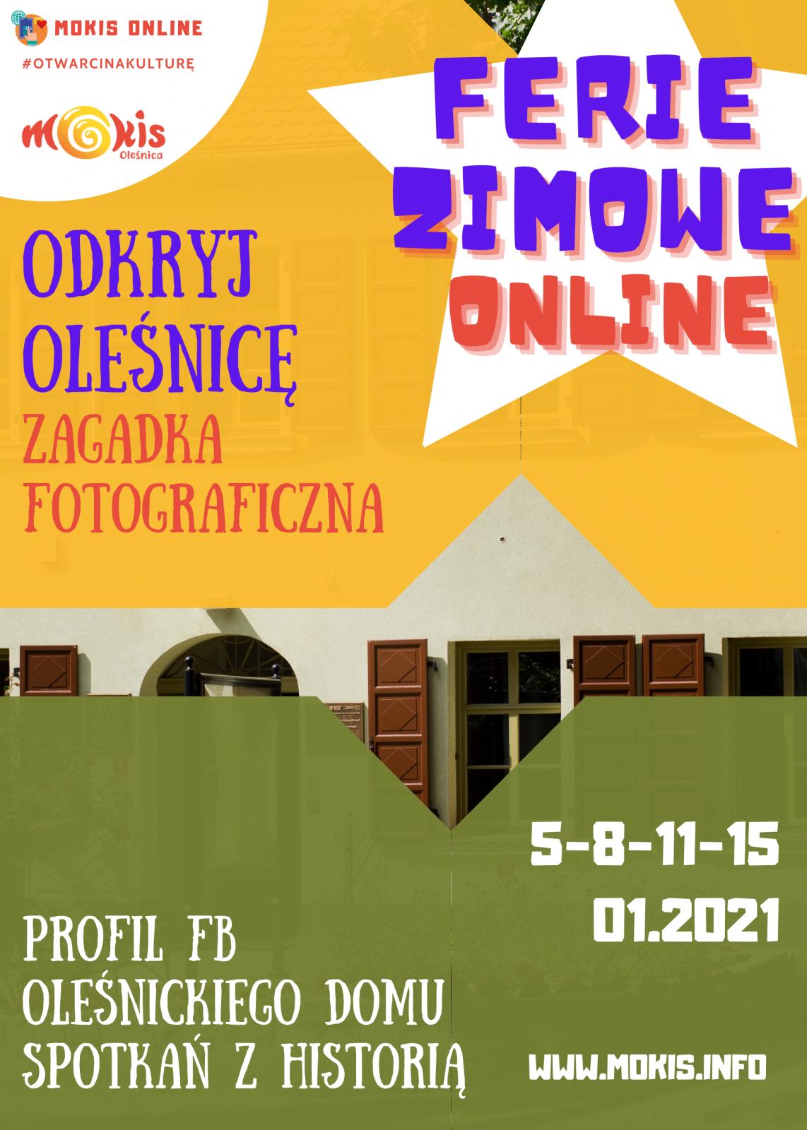plakat Odkryj Oleśnicę