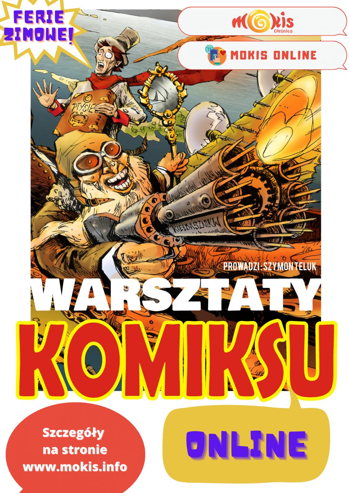 plakat komiks