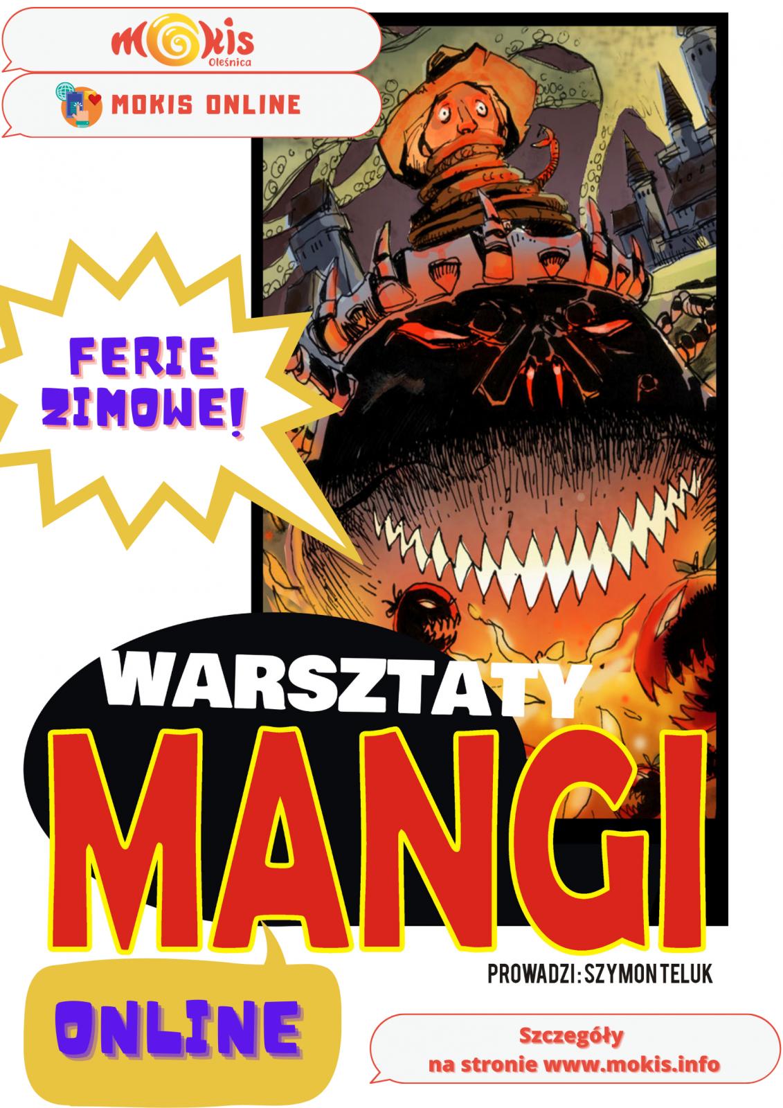 plakat manga