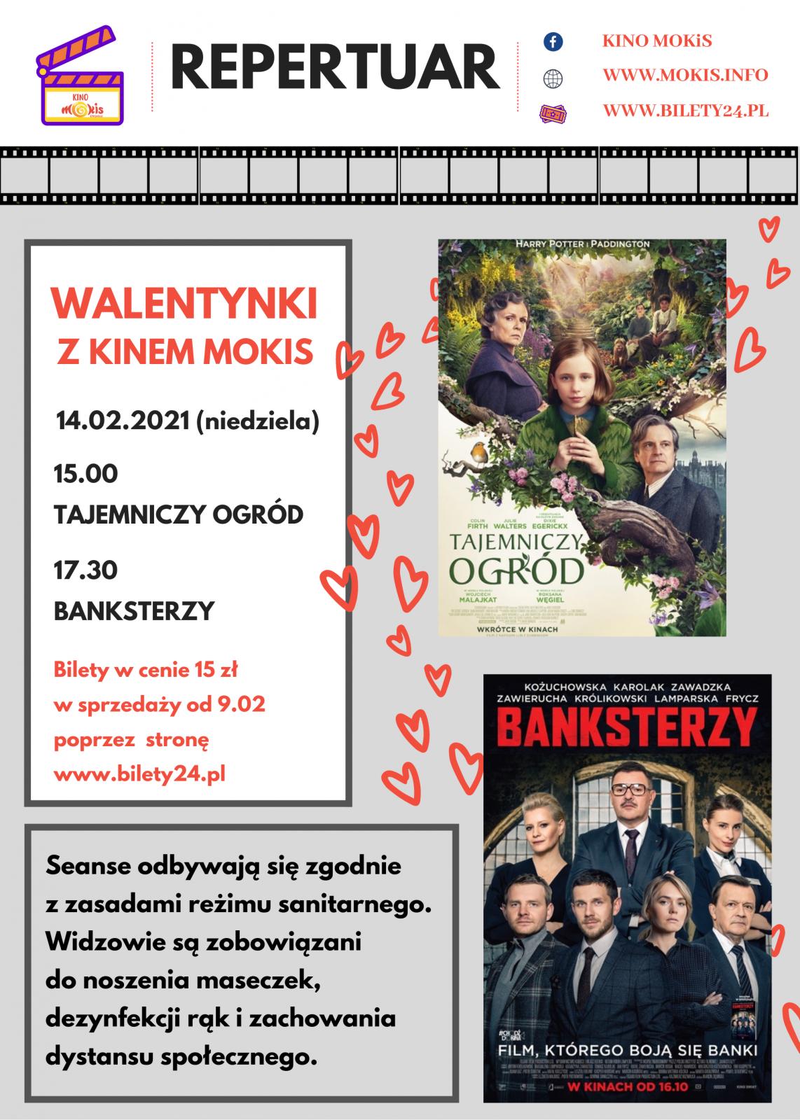 plakat KINO Walentynki