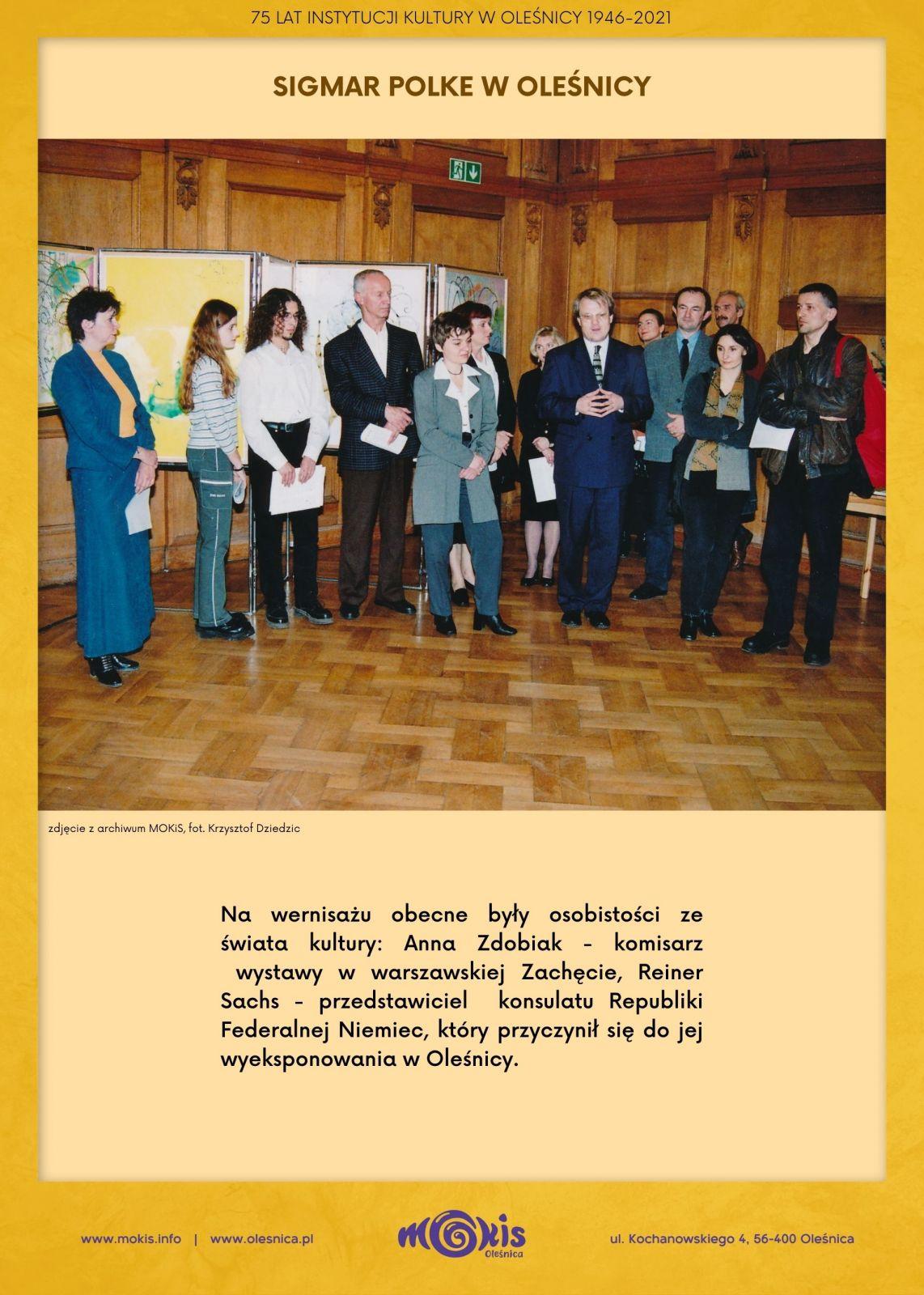 80. rocznica urodzin Sigmara Polke