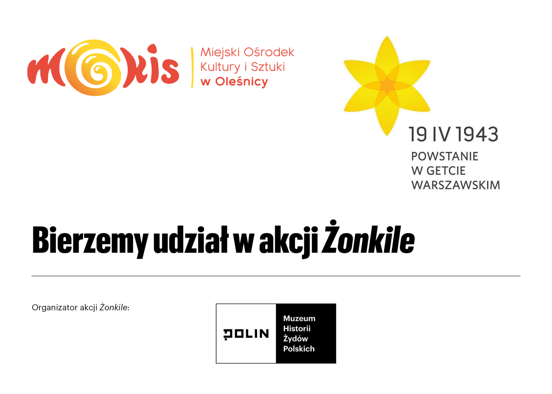 plakat ŻONKILE
