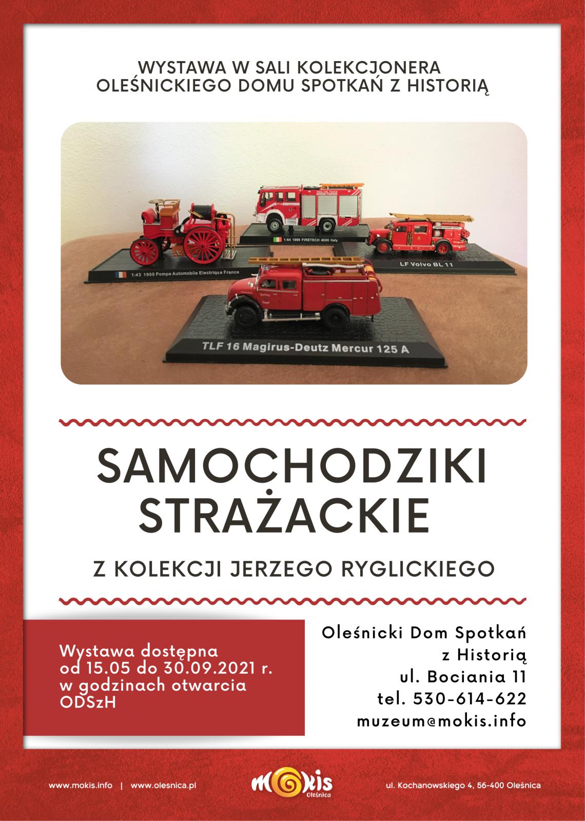 plakat samochodziki