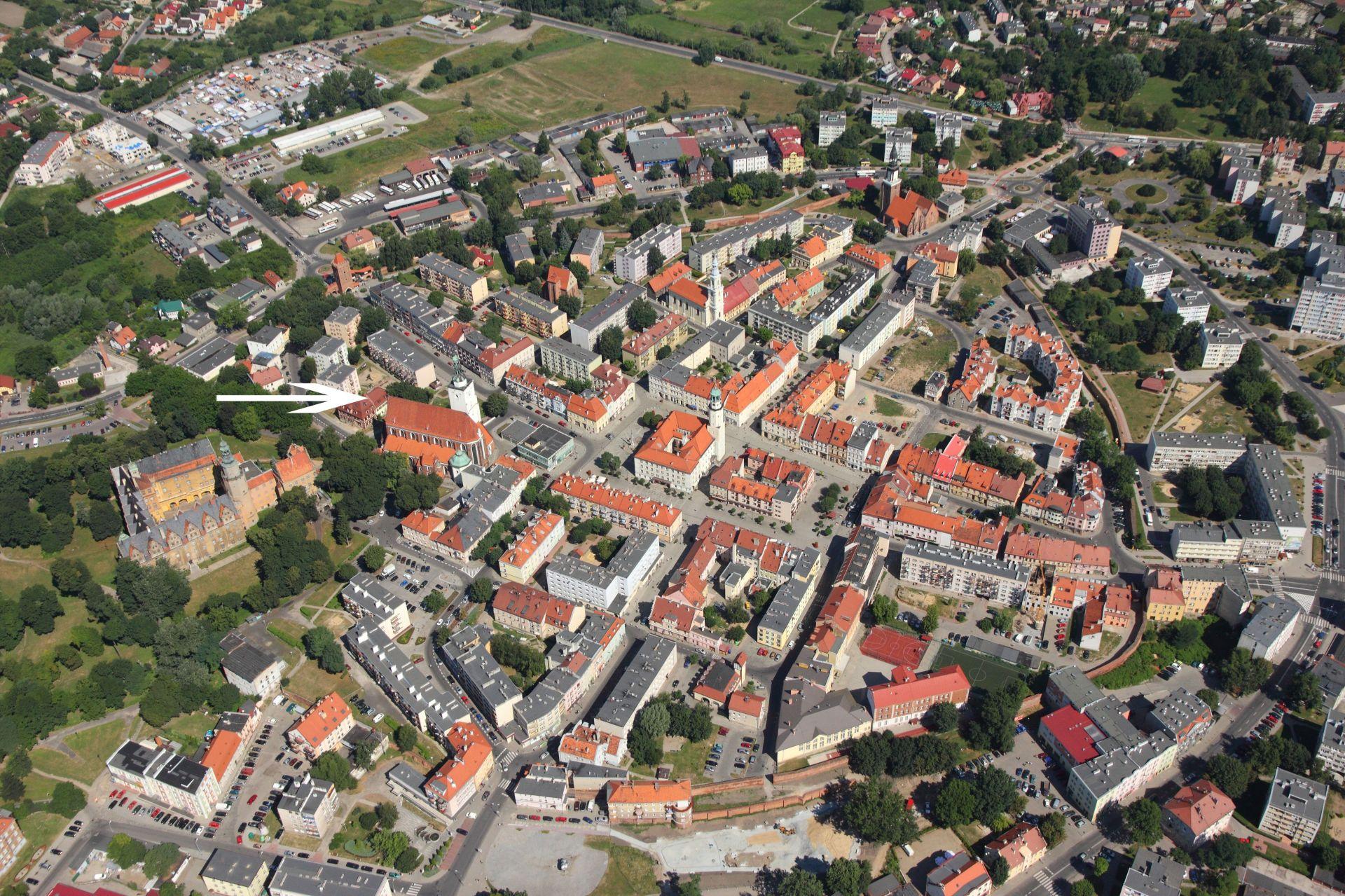 Lokalizacja Oleśnicki Dom Spotkań z Historią