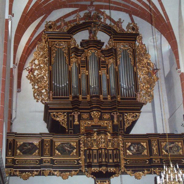 Organy Bazyliki Mniejszej p.w. Św Jana Apostoła w Oleśnicy - fot. Ryszard Kałużny